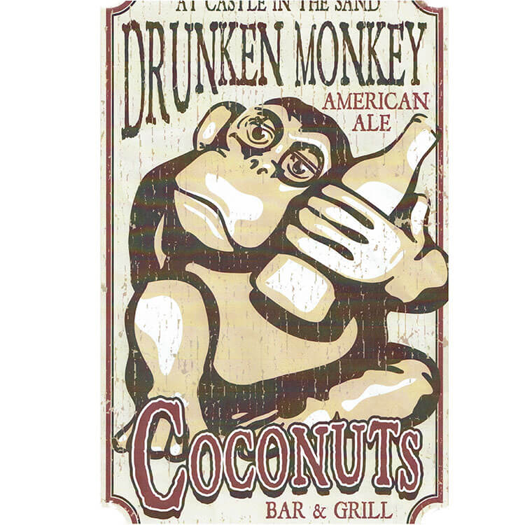 Drunken Monkey Long Sleeve
