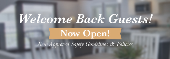 Welcome Back Guest! We are now open!